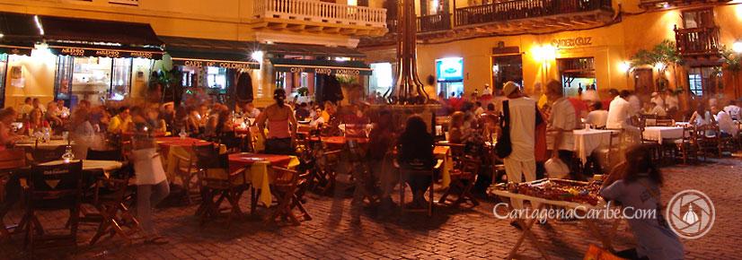 Em Cartagena Colombia Viajando Com A Dica